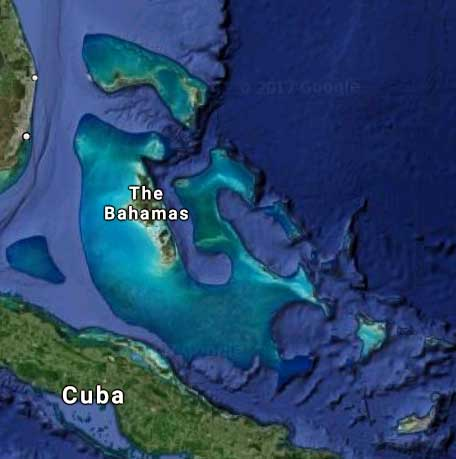 The Bahamas Earth View